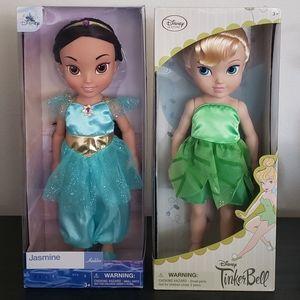 Set Of Two Disney Animators Dolls